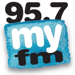 95.7 my fm logo